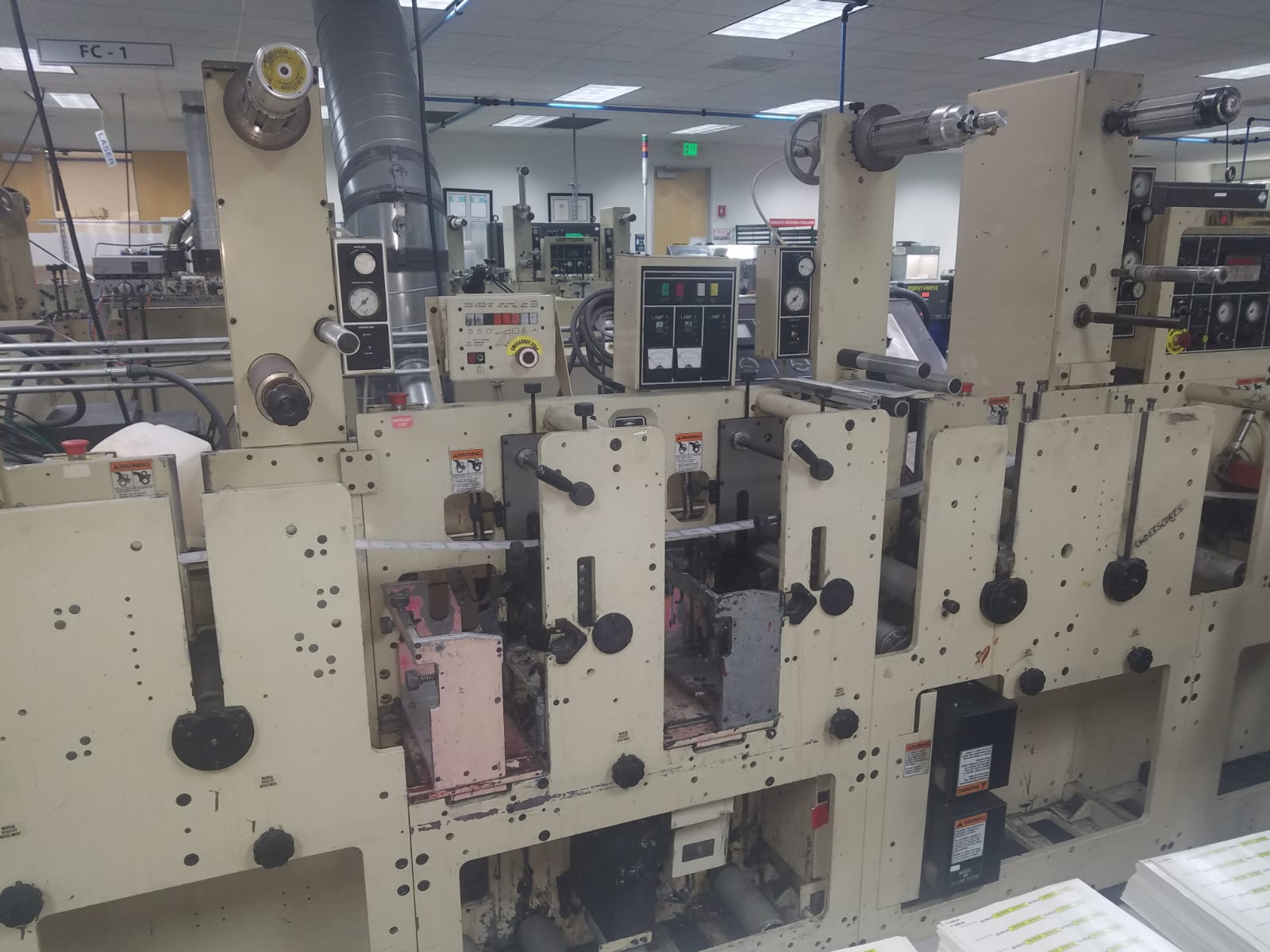 Mark Andy 2200 - Used Flexo Printing Presses and Used Flexographic Equipment-8