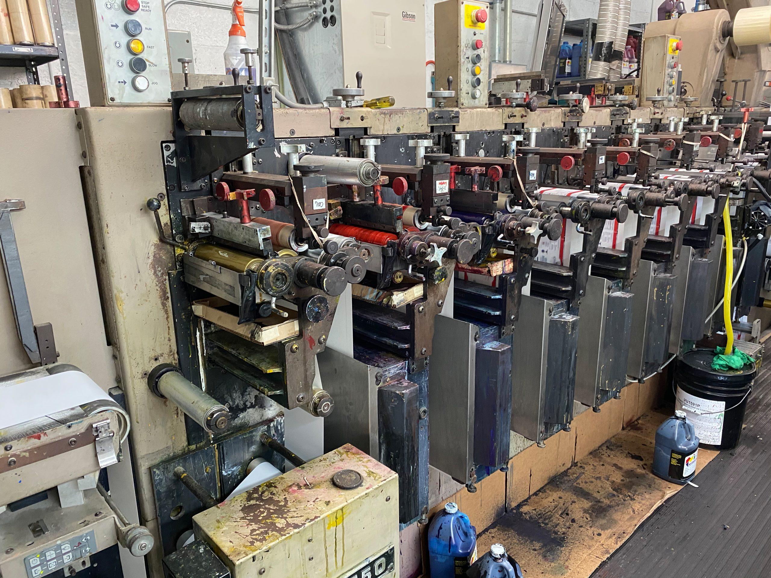 Webtron 750 HQV - Used Flexo Printing Presses and Used Flexographic Equipment-2