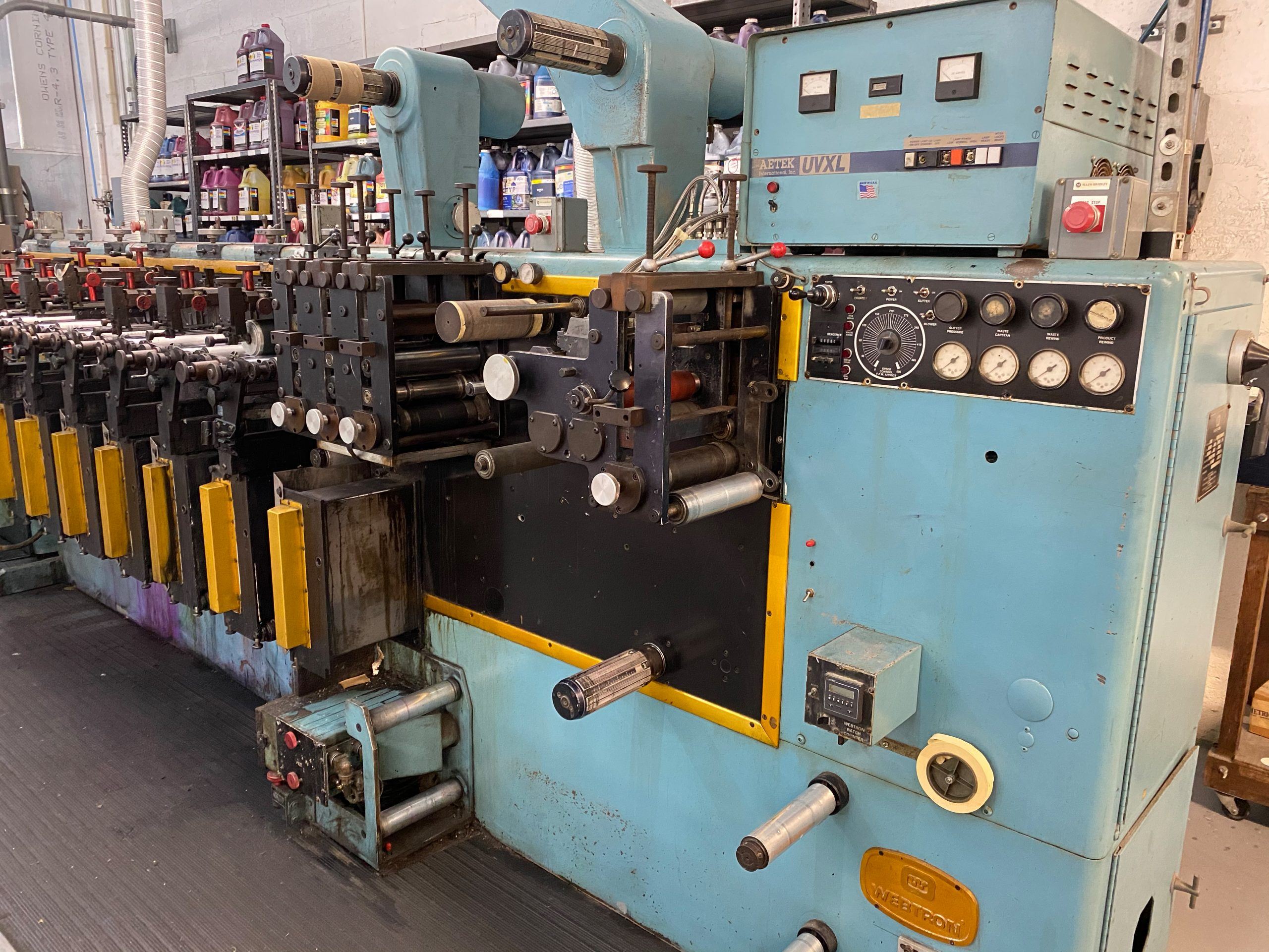 Webtron 750 HQV - Used Flexo Printing Presses and Used Flexographic Equipment-4