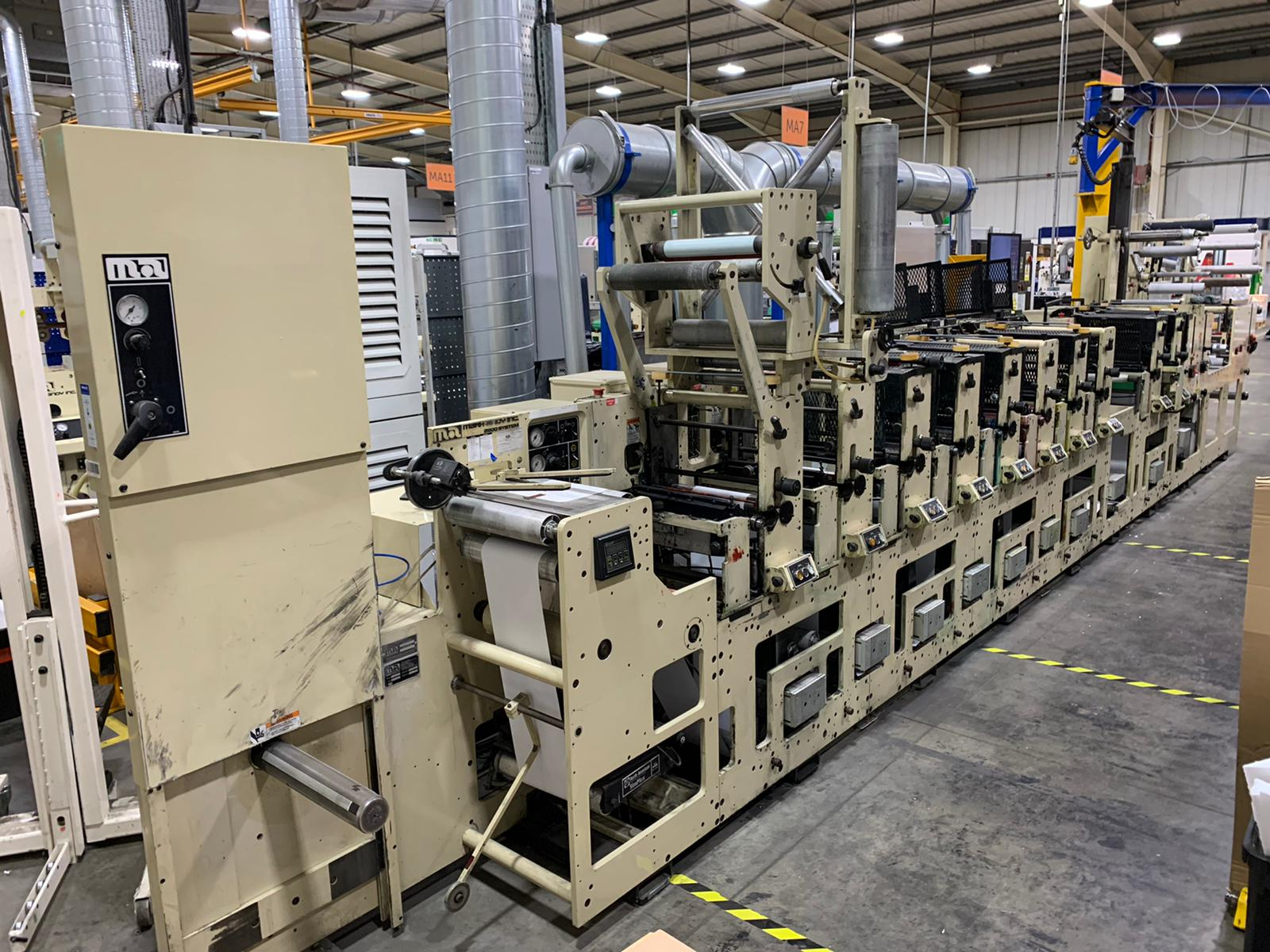 Mark Andy 2200 - Used Flexo Printing Presses and Used Flexographic Equipment-1