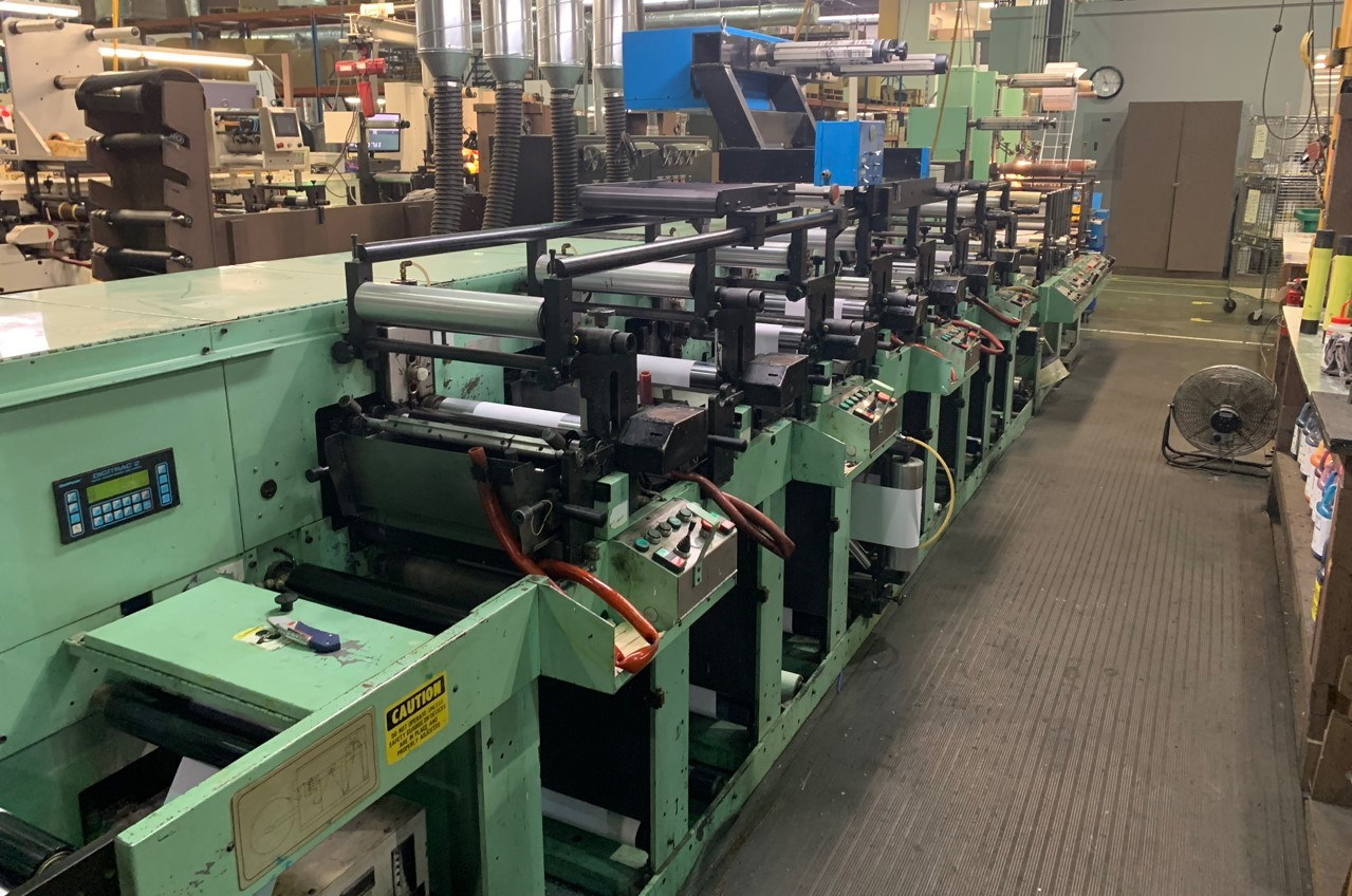 Rotopress 3513 - Used Flexo Printing Presses and Used Flexographic Equipment-0