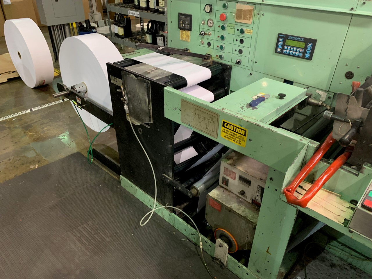 Rotopress 3513 - Used Flexo Printing Presses and Used Flexographic Equipment-3