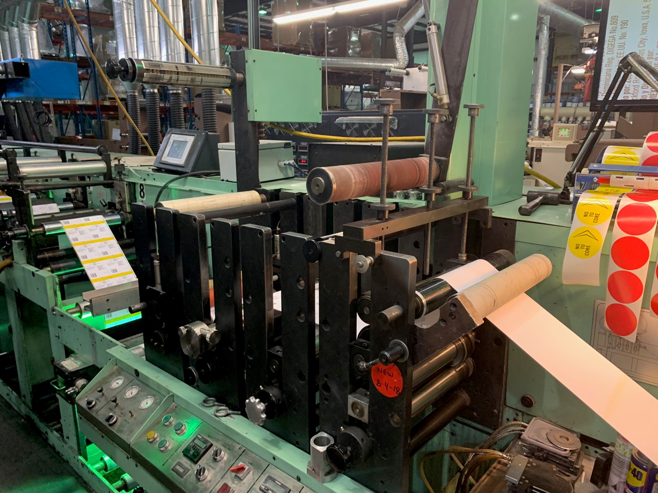 Rotopress 3513 - Used Flexo Printing Presses and Used Flexographic Equipment-7