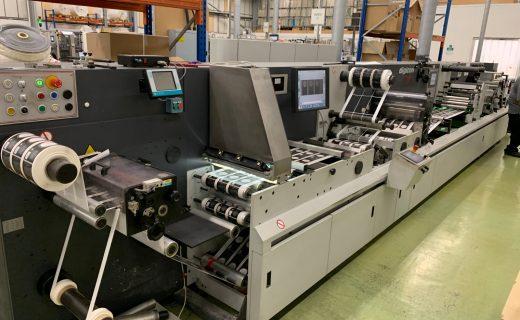 ABG Digicon Series 1 - Used Flexo Printing Presses and Used Flexographic Equipment