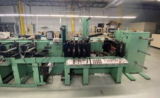 Rotopress 3510 - Used Flexo Printing Presses and Used Flexographic Equipment