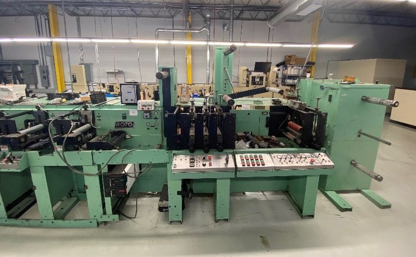 Rotopress 3510 - Used Flexo Printing Presses and Used Flexographic Equipment-0