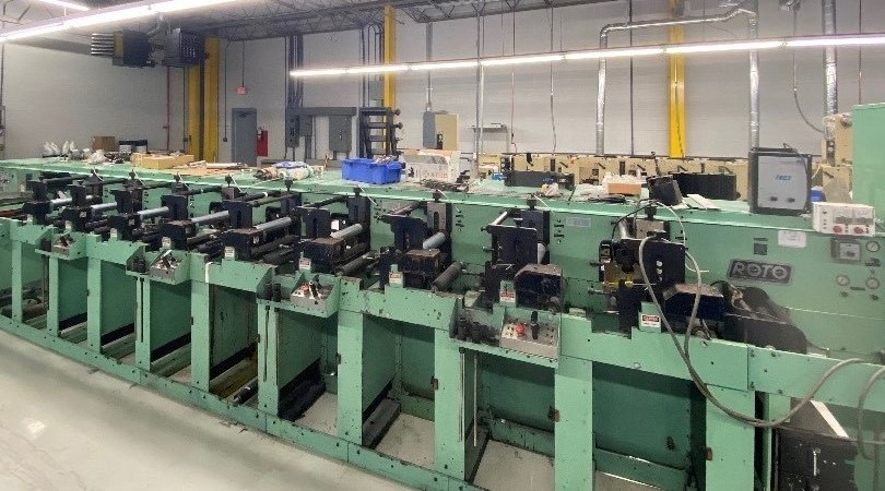 Rotopress 3510 - Used Flexo Printing Presses and Used Flexographic Equipment-2