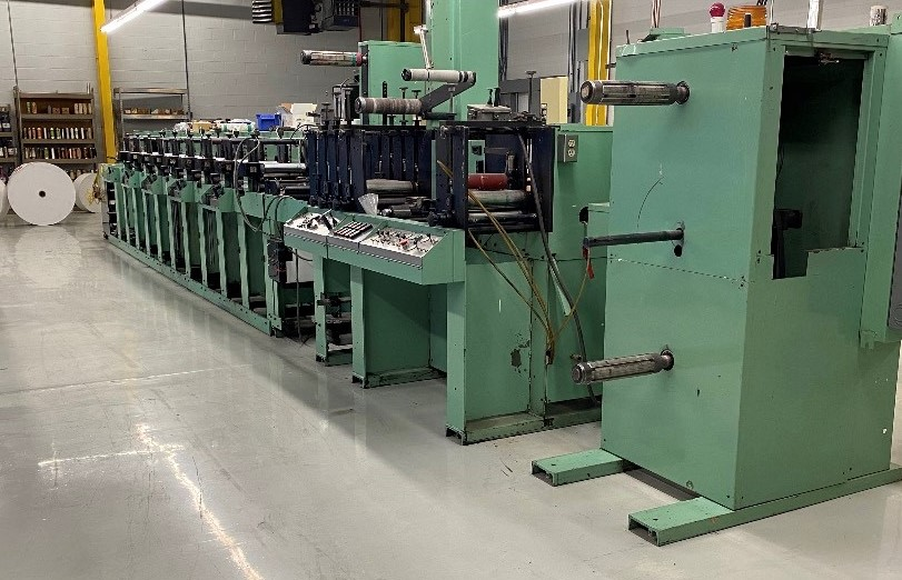 Rotopress 3510 - Used Flexo Printing Presses and Used Flexographic Equipment-3