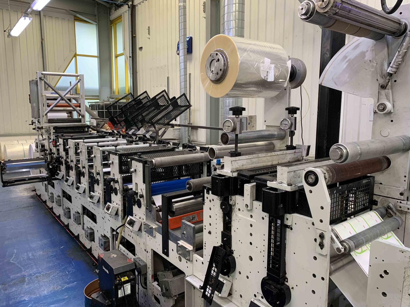 Mark Andy 2200S-17 - Used Flexo Printing Presses and Used Flexographic Equipment-0