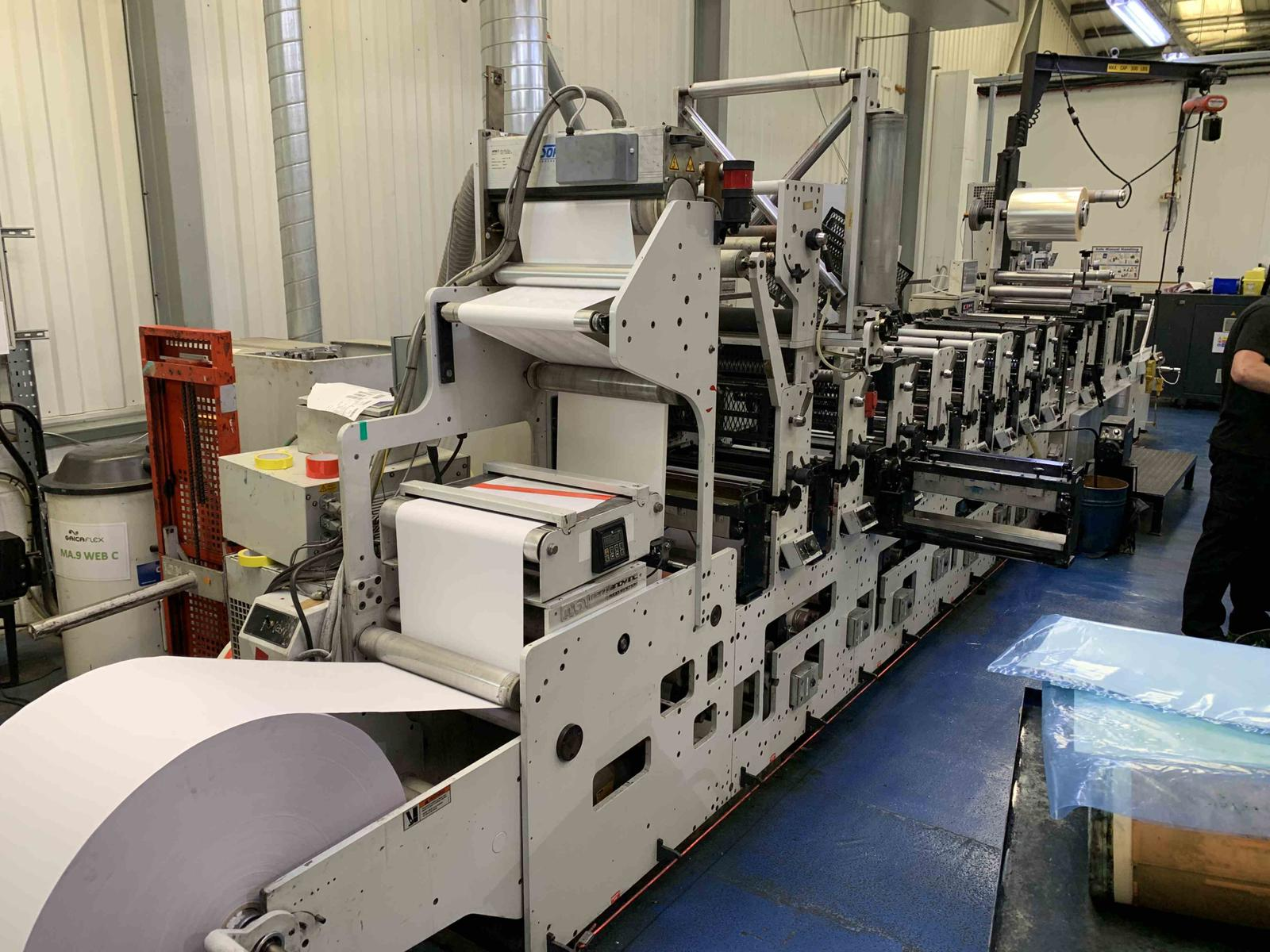 Mark Andy 2200S-17 - Used Flexo Printing Presses and Used Flexographic Equipment-2