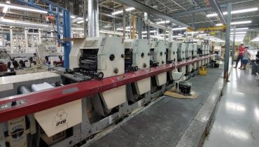MPS EP410 - Used Flexo Printing Presses and Used Flexographic Equipment