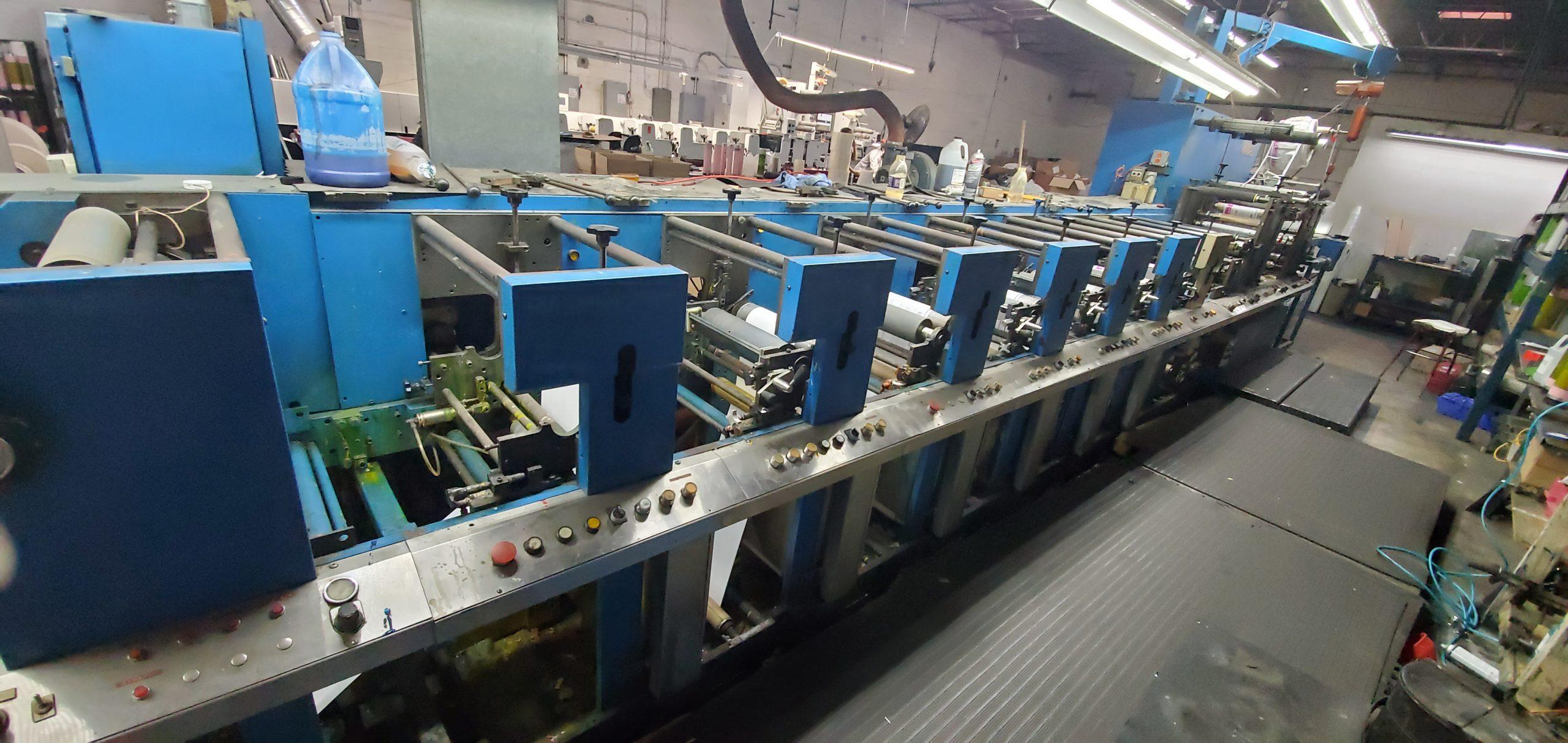 Aquaflex LWSP-1307 - Used Flexo Printing Presses and Used Flexographic Equipment-0