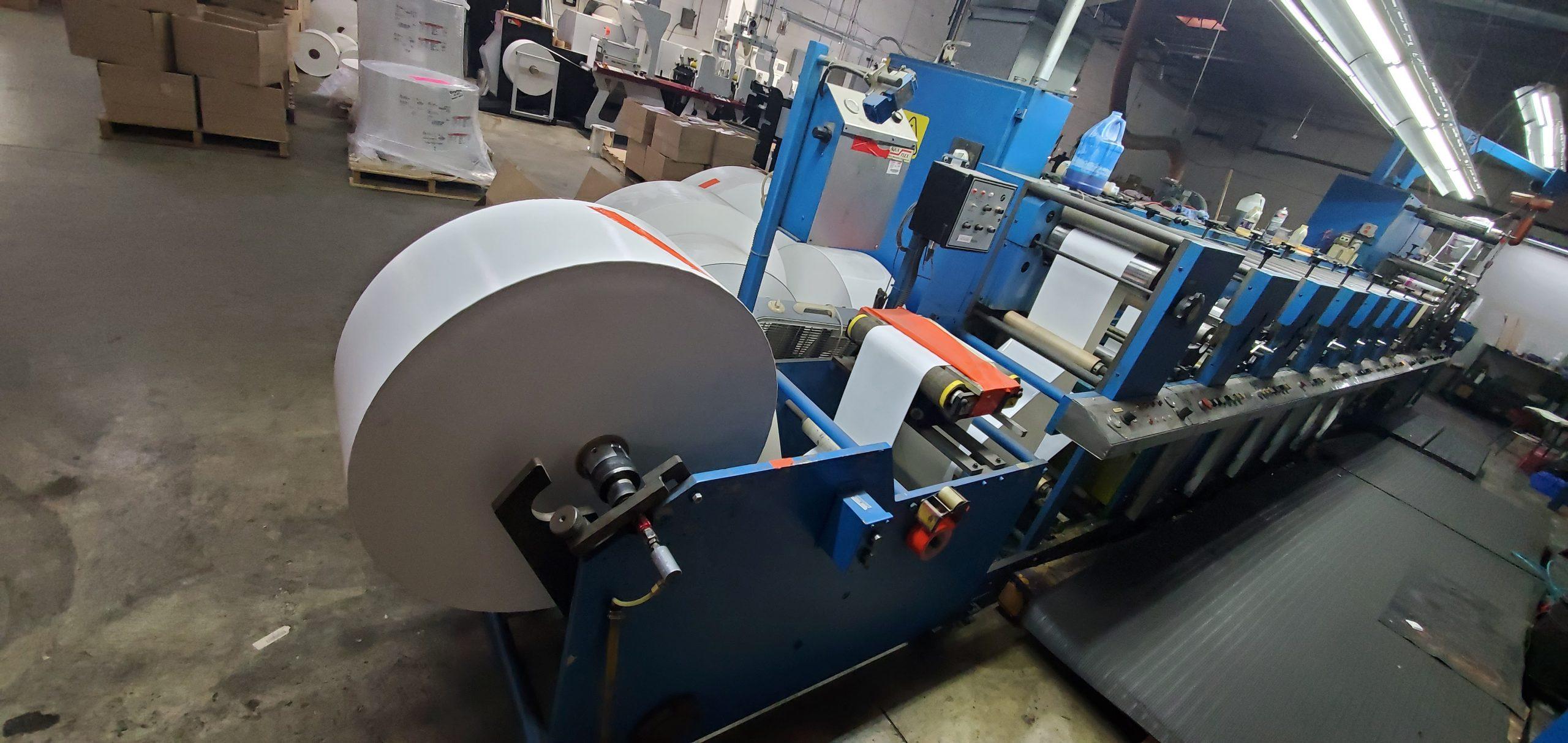 Aquaflex LWSP-1307 - Used Flexo Printing Presses and Used Flexographic Equipment-2