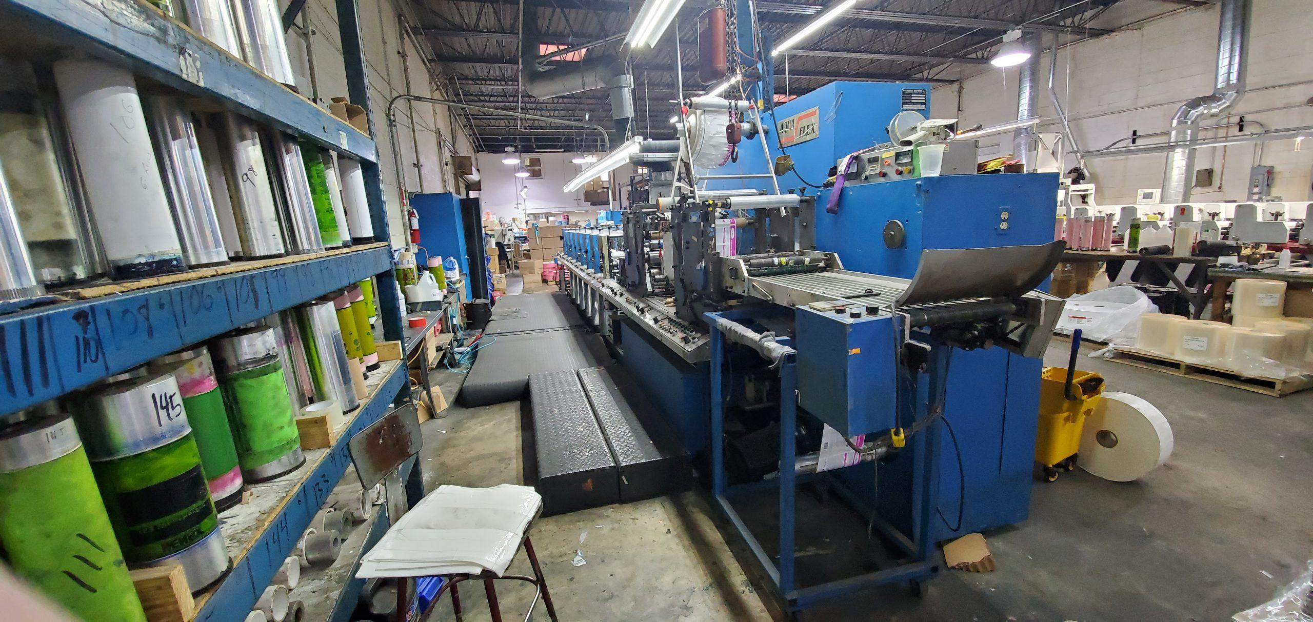 Aquaflex LWSP-1307 - Used Flexo Printing Presses and Used Flexographic Equipment-3