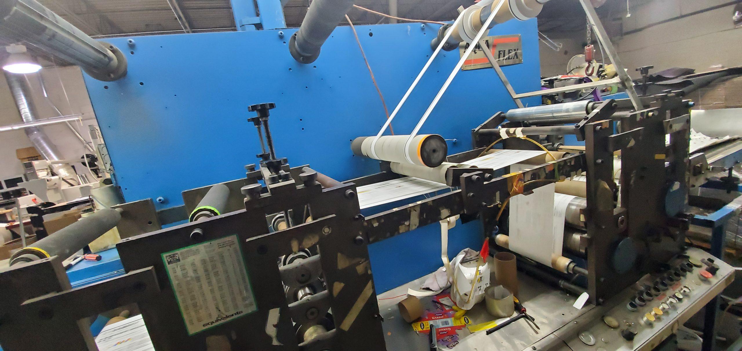 Aquaflex LWSP-1307 - Used Flexo Printing Presses and Used Flexographic Equipment-5