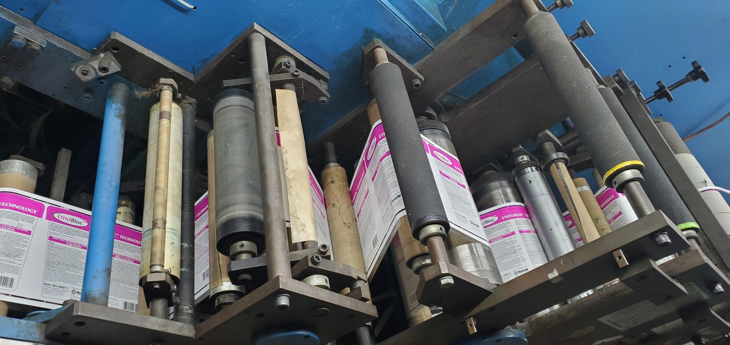 Aquaflex LWSP-1307 - Used Flexo Printing Presses and Used Flexographic Equipment-7
