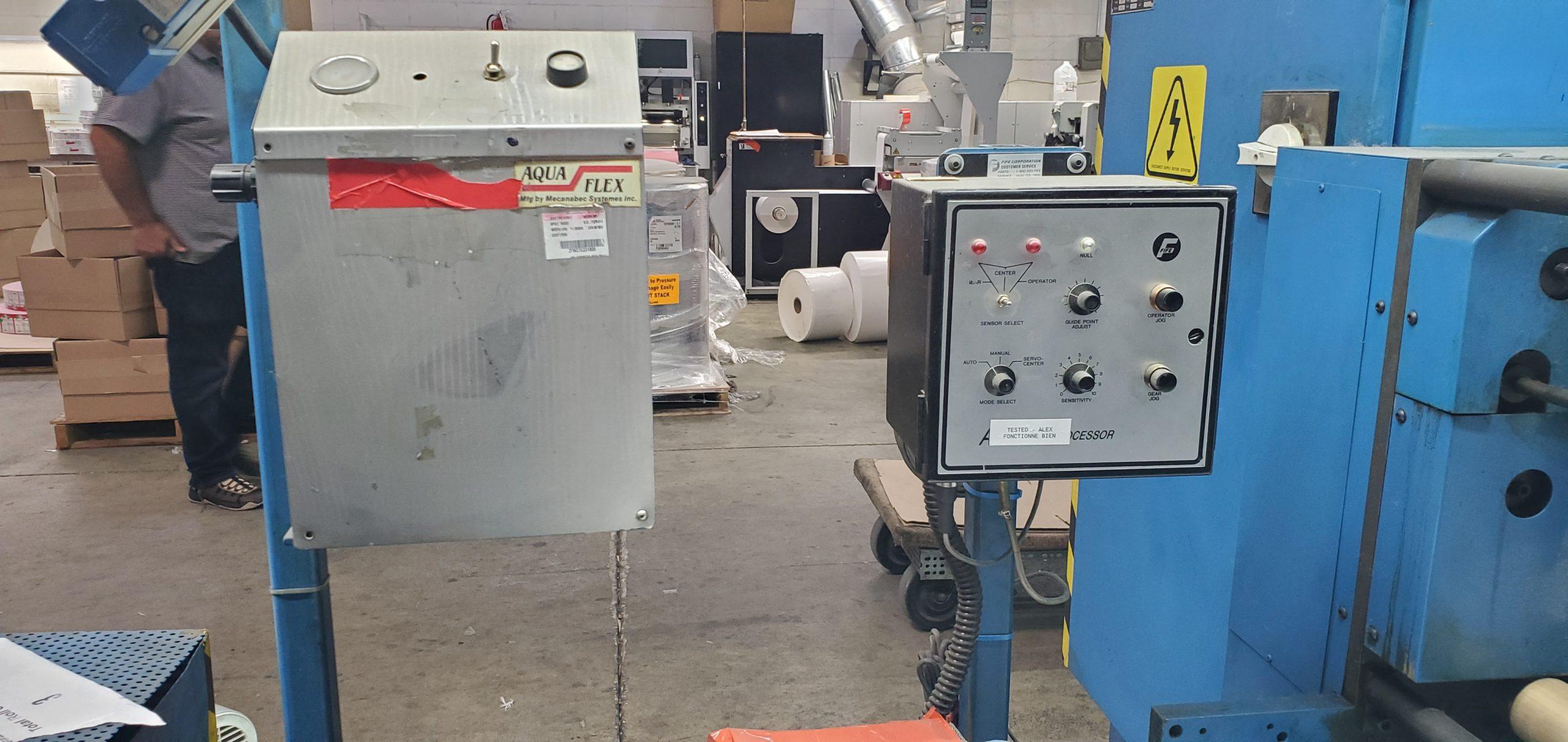 Aquaflex LWSP-1307 - Used Flexo Printing Presses and Used Flexographic Equipment-11