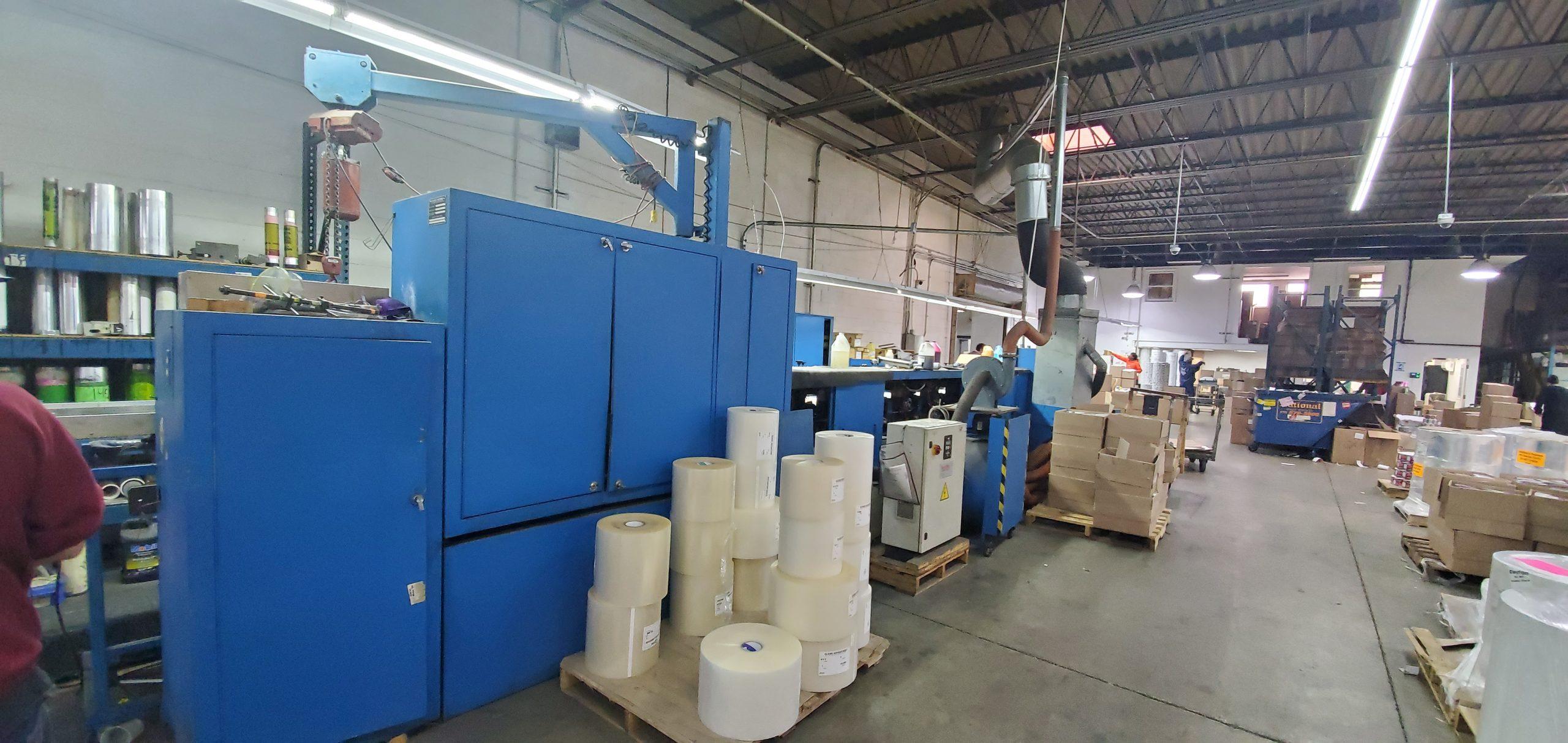 Aquaflex LWSP-1307 - Used Flexo Printing Presses and Used Flexographic Equipment-14