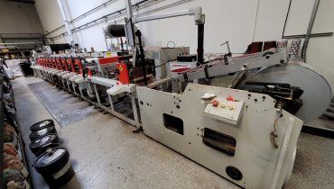 Aquaflex ELS 1610 - Used Flexo Printing Presses and Used Flexographic Equipment