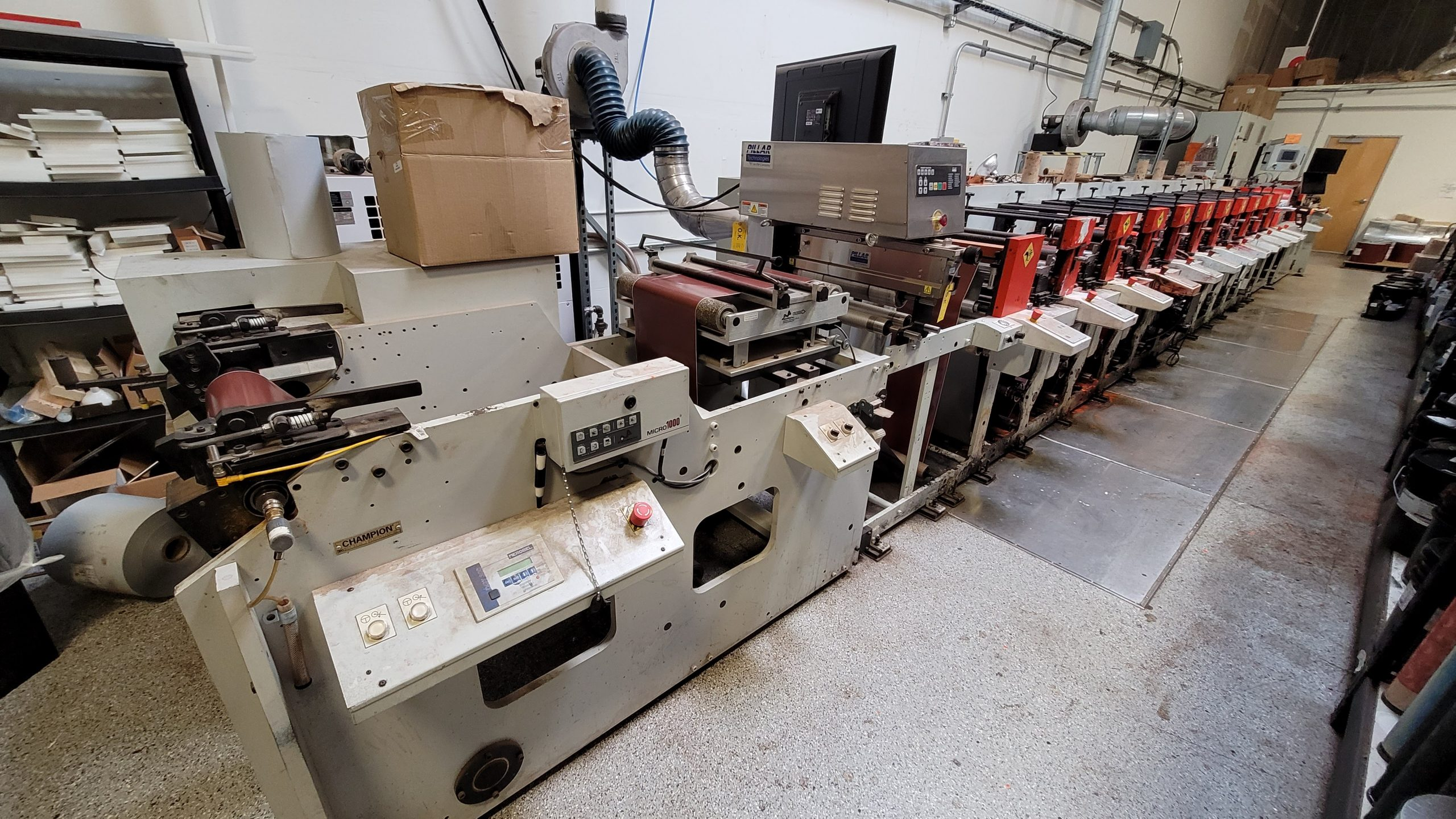 Aquaflex ELS 1610 - Used Flexo Printing Presses and Used Flexographic Equipment-2