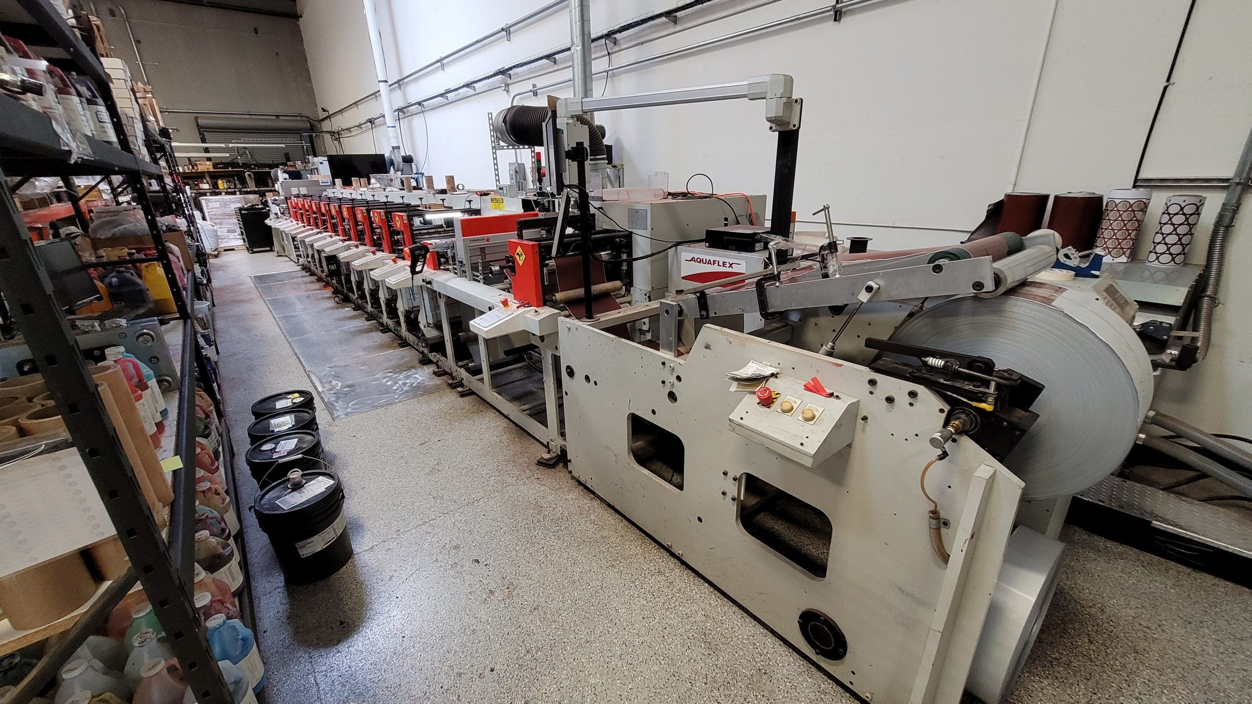 Aquaflex ELS 1610 - Used Flexo Printing Presses and Used Flexographic Equipment-3