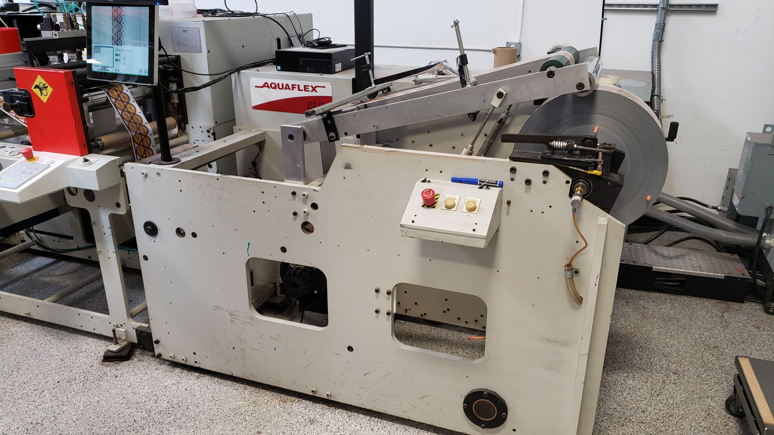 Aquaflex ELS 1610 - Used Flexo Printing Presses and Used Flexographic Equipment-4