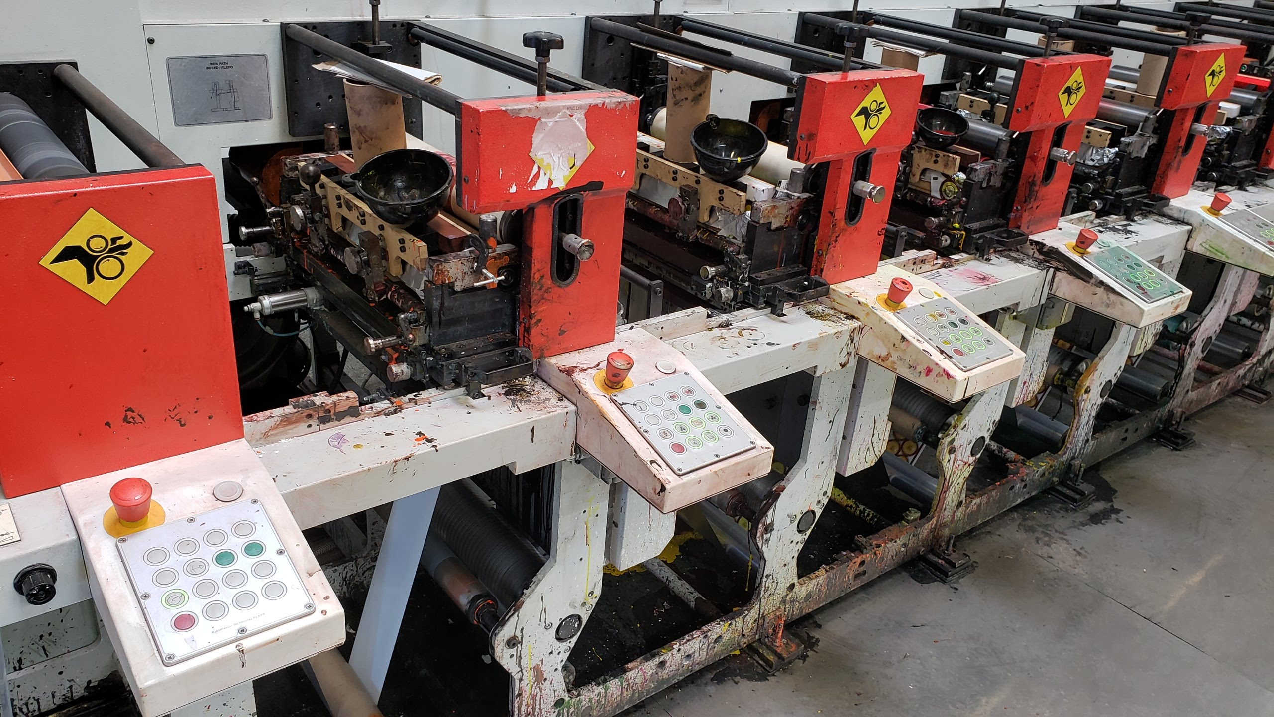 Aquaflex ELS 1610 - Used Flexo Printing Presses and Used Flexographic Equipment-15