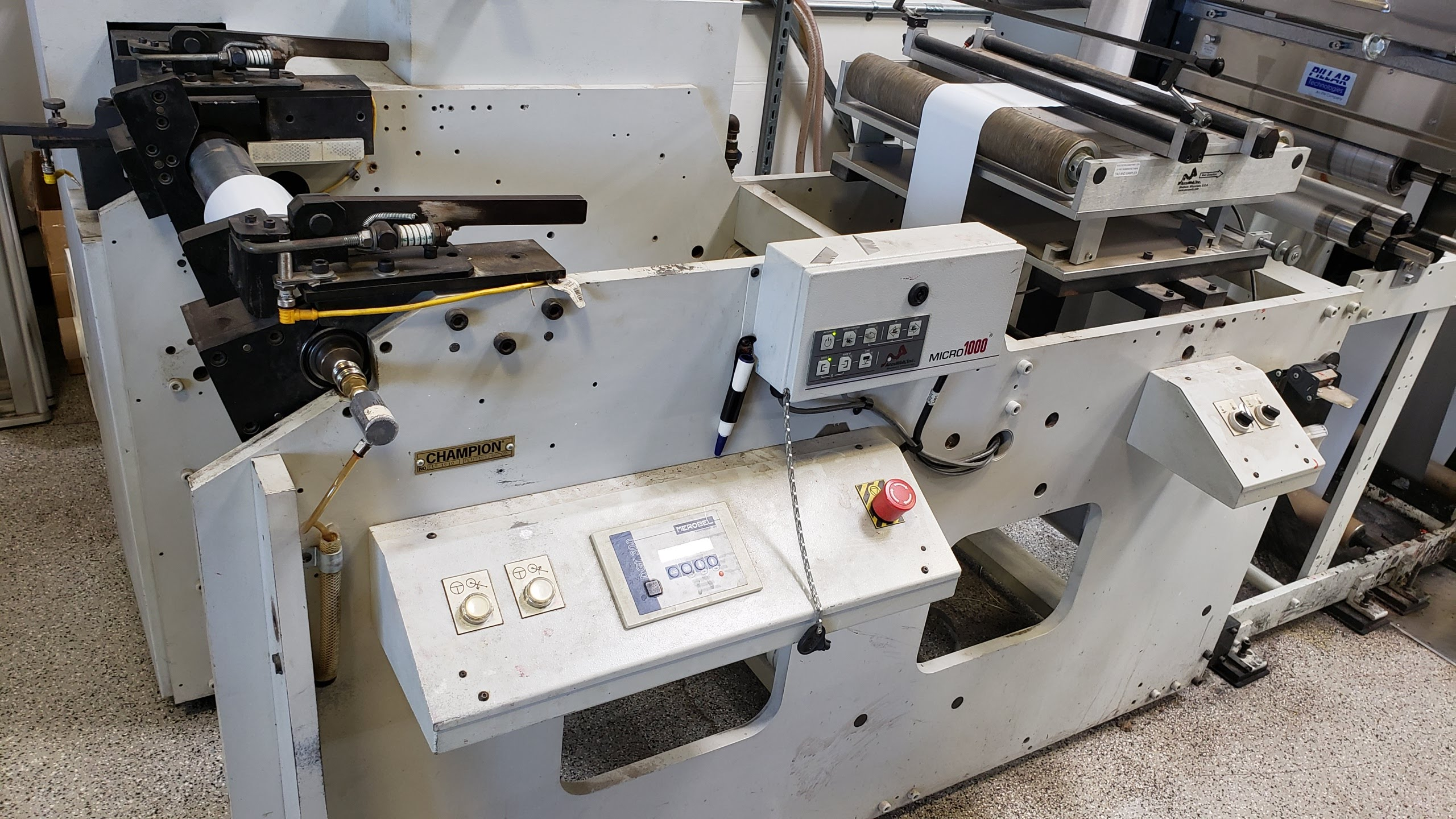 Aquaflex ELS 1610 - Used Flexo Printing Presses and Used Flexographic Equipment-19