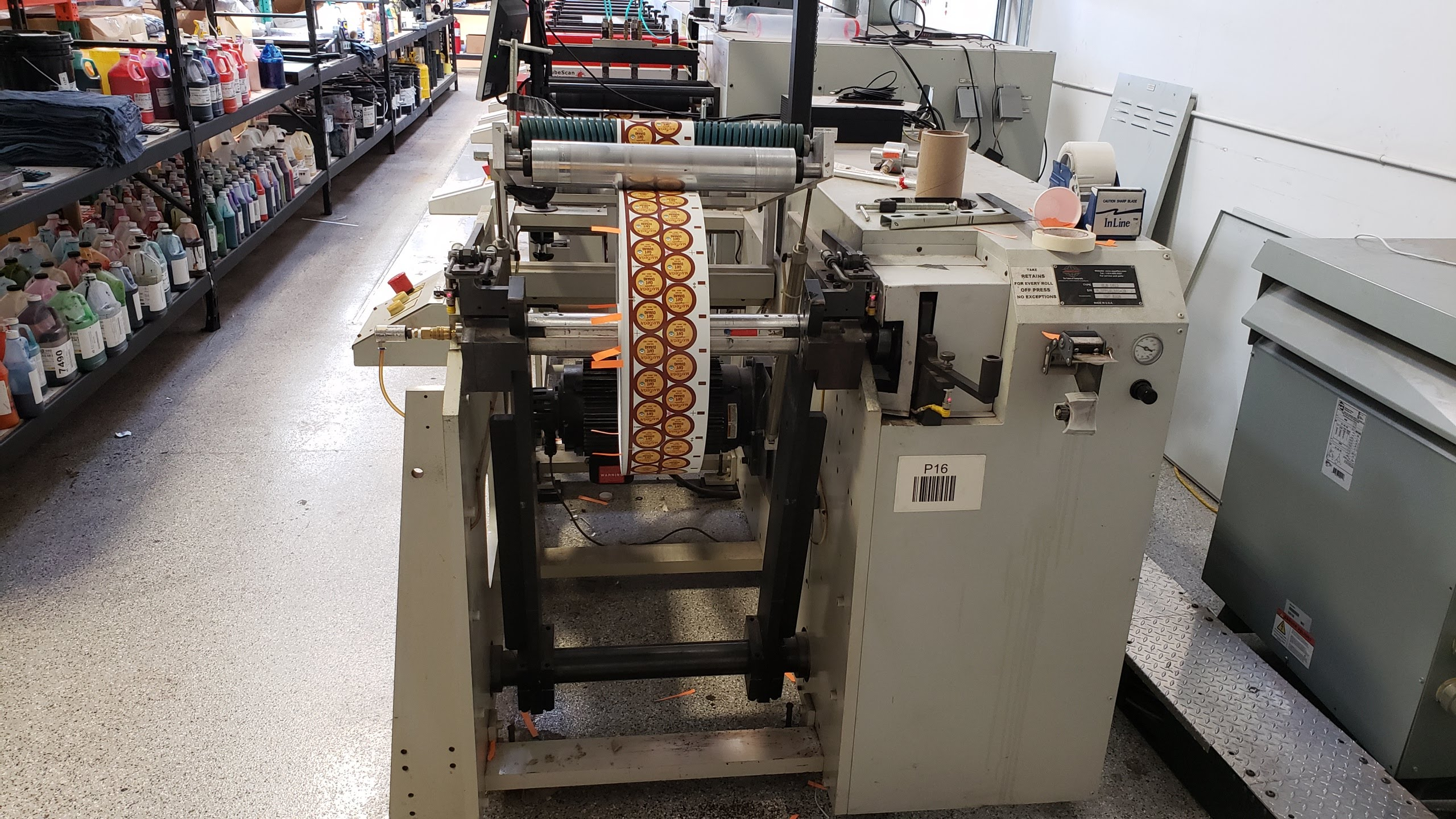 Aquaflex ELS 1610 - Used Flexo Printing Presses and Used Flexographic Equipment-21