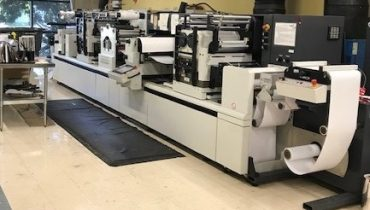 ABG Digicon Series 2 - Used Flexo Printing Presses and Used Flexographic Equipment