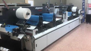 ABG Digicon Series 1 - Used Flexo Printing Presses and Used Flexographic Equipment