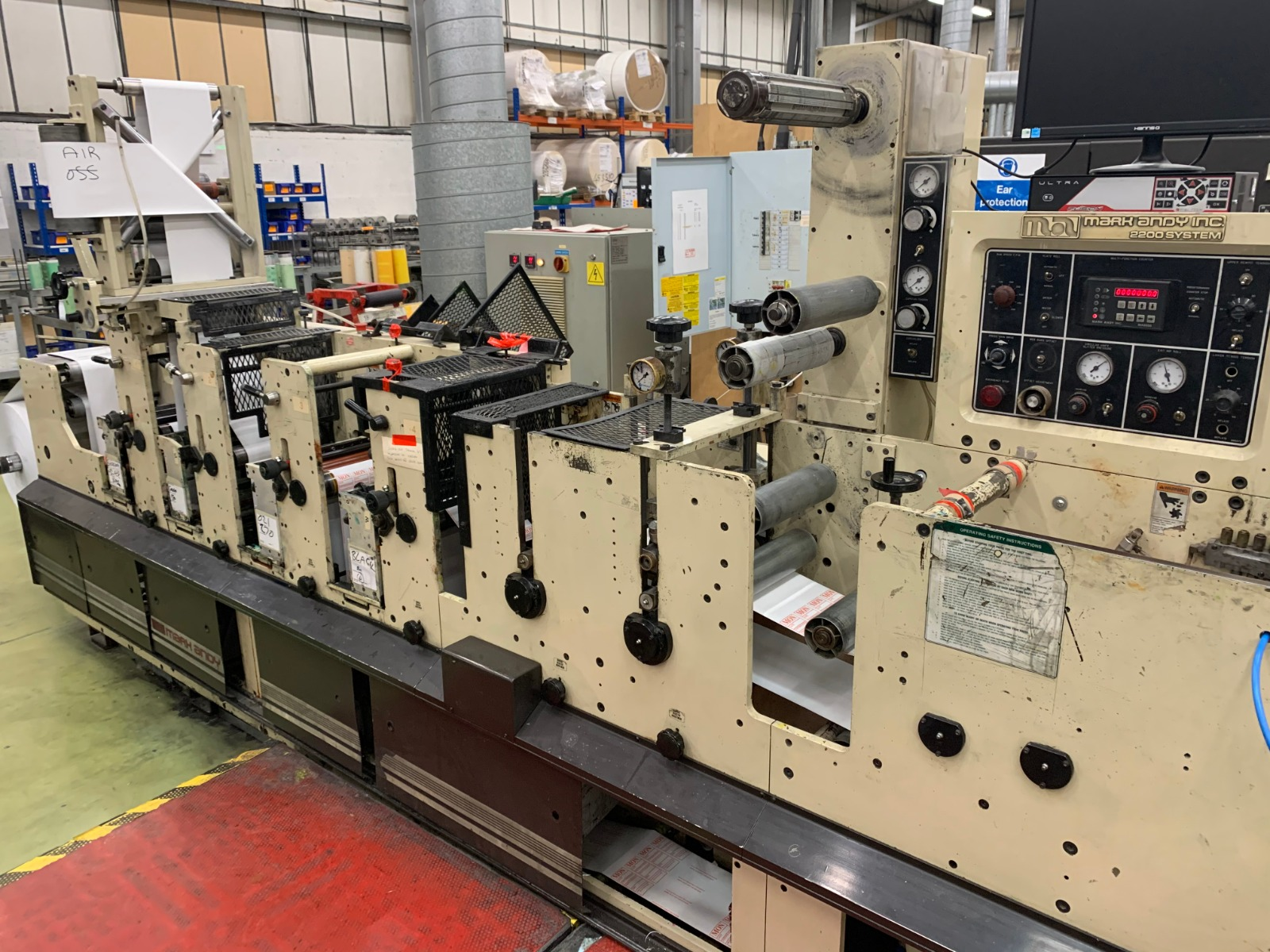 Mark Andy 2200 - Used Flexo Printing Presses and Used Flexographic Equipment-3