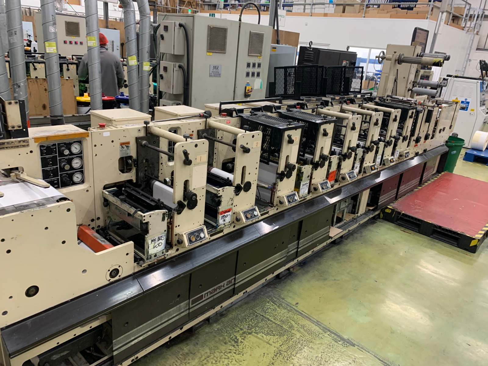 Mark Andy 2200 - Used Flexo Printing Presses and Used Flexographic Equipment-18