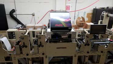 JFlex 870 - Used Flexo Printing Presses and Used Flexographic Equipment