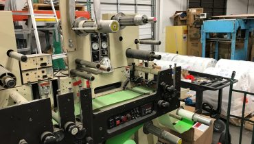 Mark Andy 830 - Used Flexo Printing Presses and Used Flexographic Equipment