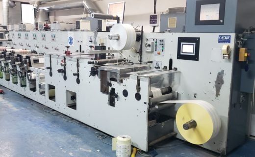 Gidue Combat 430 - Used Flexo Printing Presses and Used Flexographic Equipment