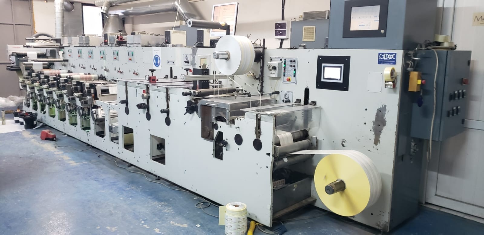Gidue Combat 430 - Used Flexo Printing Presses and Used Flexographic Equipment-0