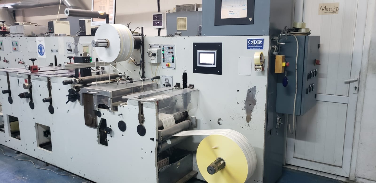 Gidue Combat 430 - Used Flexo Printing Presses and Used Flexographic Equipment-3
