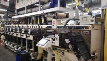 Nilpeter FA 2500 - Used Flexo Printing Presses and Used Flexographic Equipment