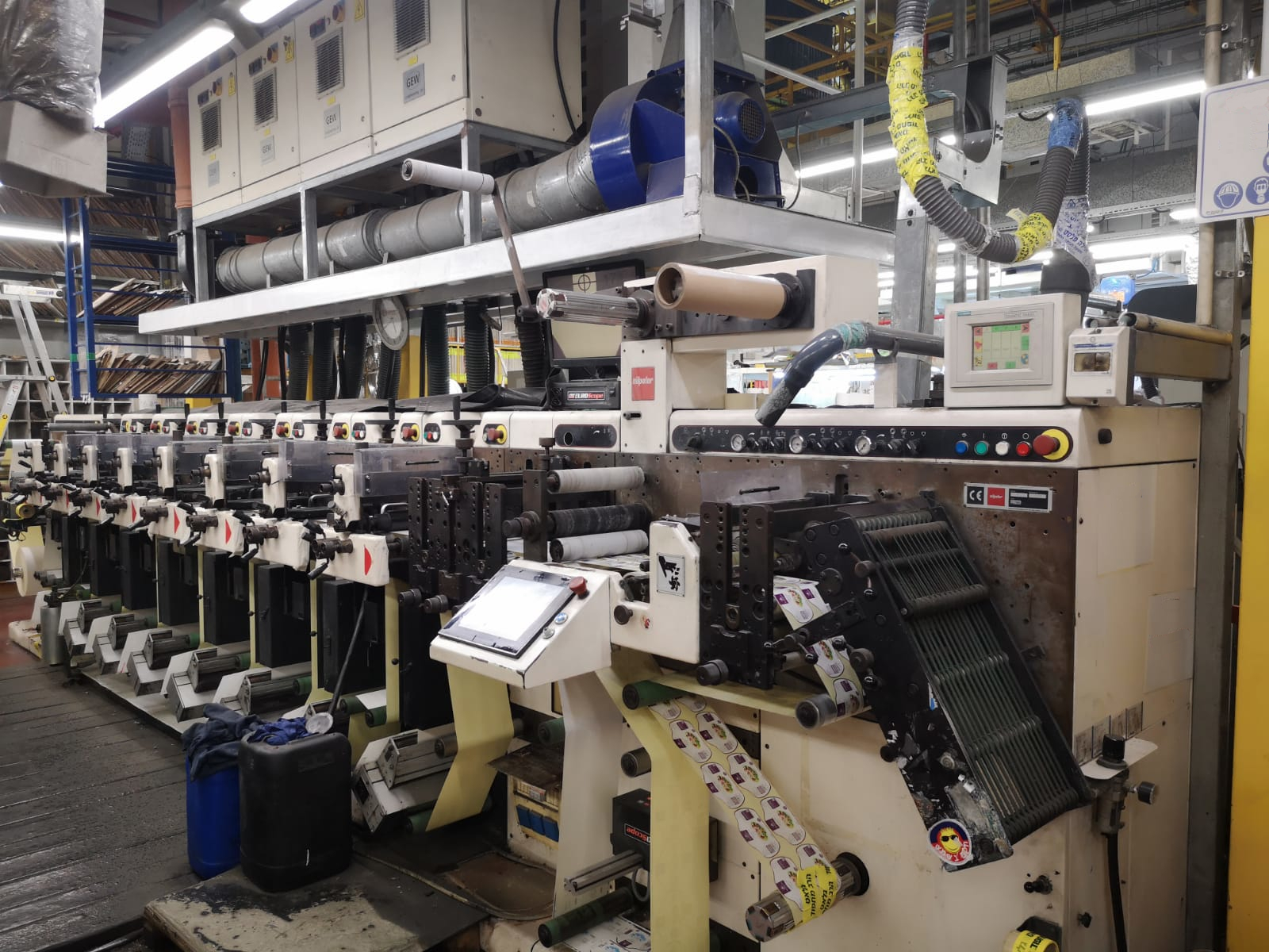 Nilpeter FA 2500 - Used Flexo Printing Presses and Used Flexographic Equipment-0