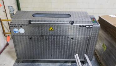 FlexoWash FW991 XL - Used Flexo Printing Presses and Used Flexographic Equipment