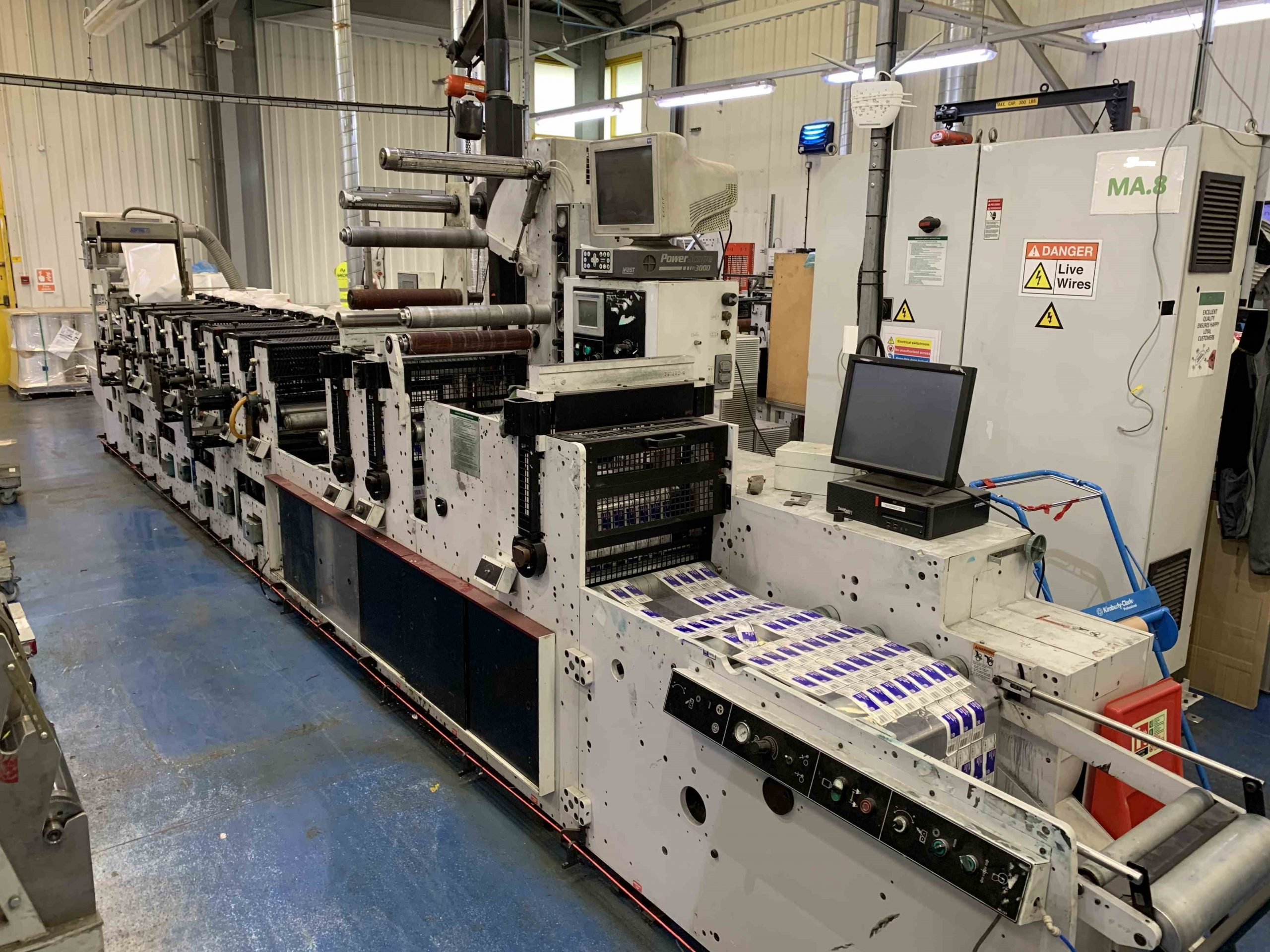 Mark Andy 2200 Servo - Used Flexo Printing Presses and Used Flexographic Equipment-0
