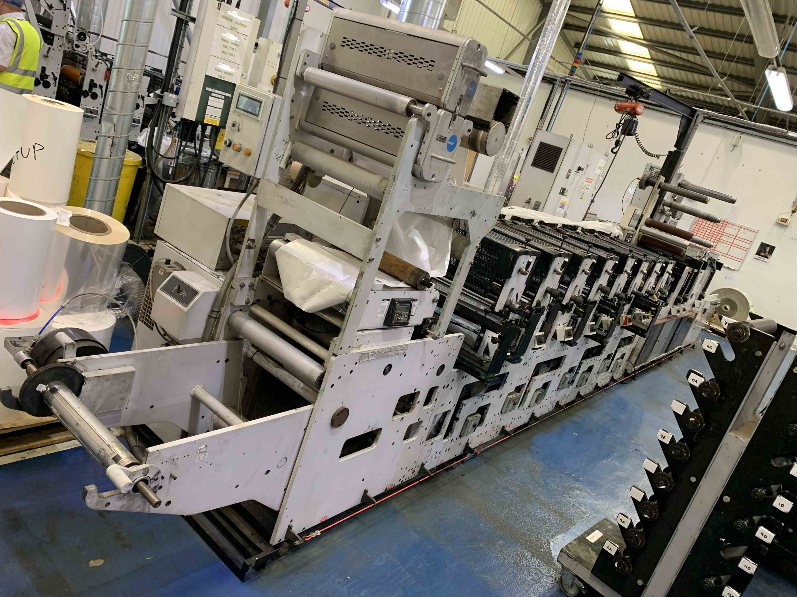 Mark Andy 2200 Servo - Used Flexo Printing Presses and Used Flexographic Equipment-2
