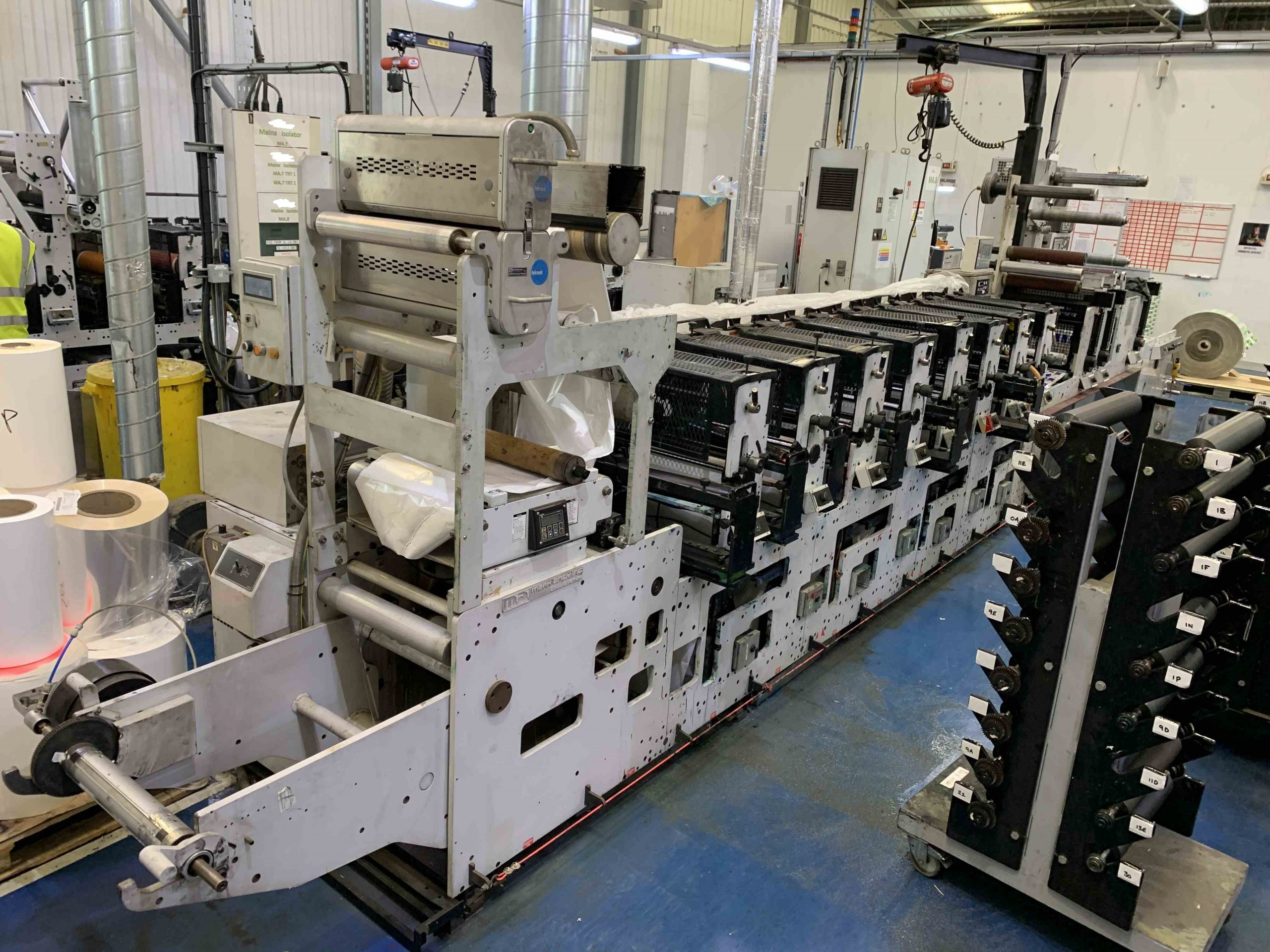 Mark Andy 2200 Servo - Used Flexo Printing Presses and Used Flexographic Equipment-3