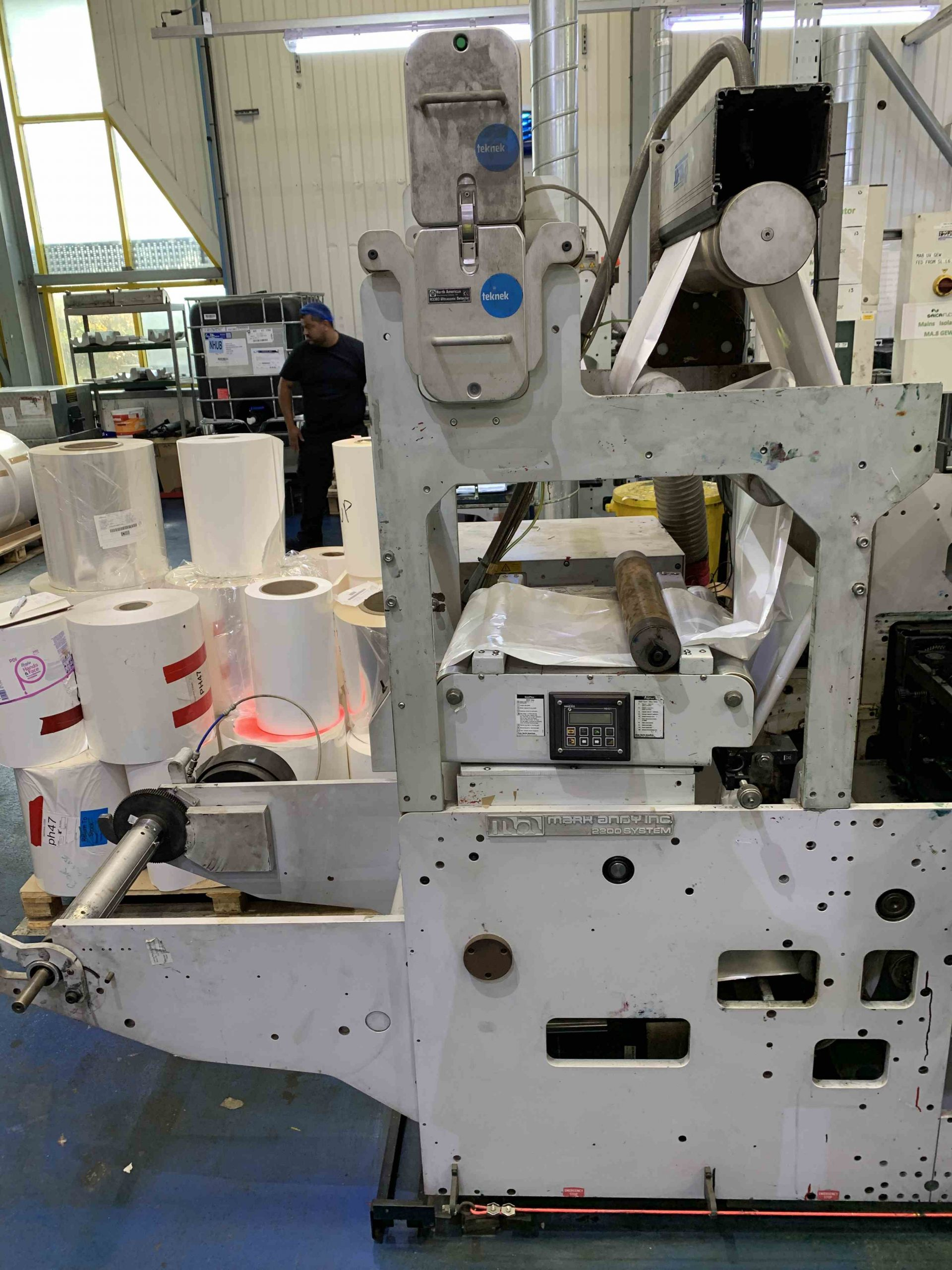 Mark Andy 2200 Servo - Used Flexo Printing Presses and Used Flexographic Equipment-4
