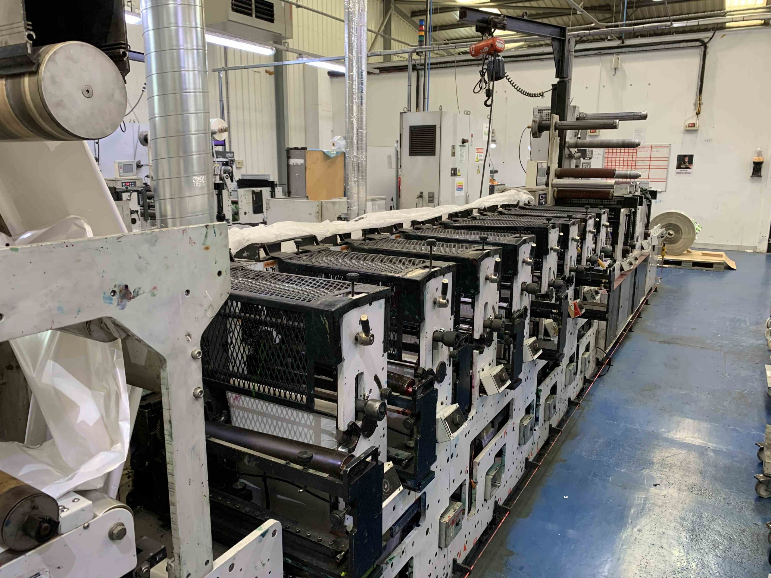 Mark Andy 2200 Servo - Used Flexo Printing Presses and Used Flexographic Equipment-5