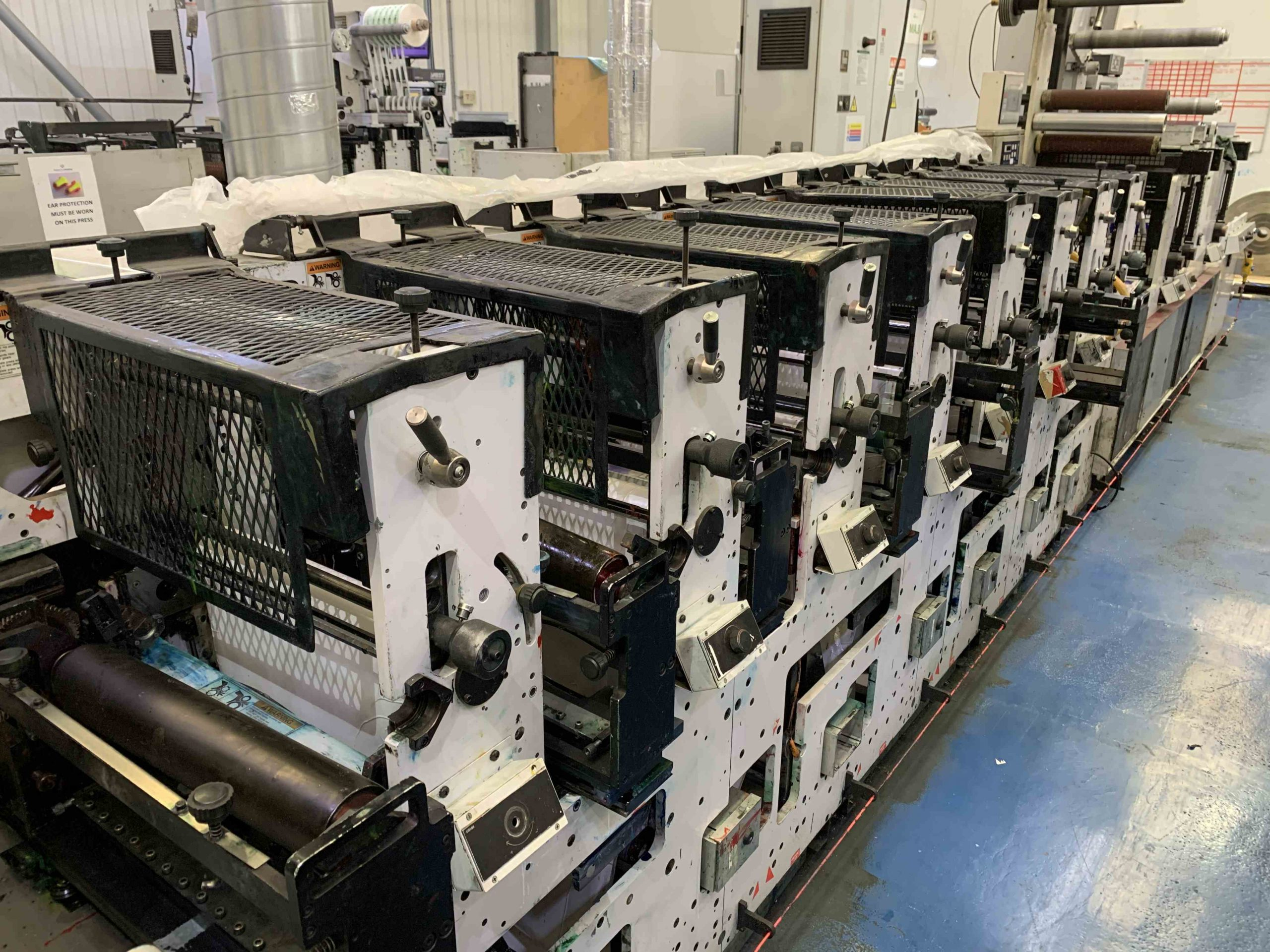 Mark Andy 2200 Servo - Used Flexo Printing Presses and Used Flexographic Equipment-6