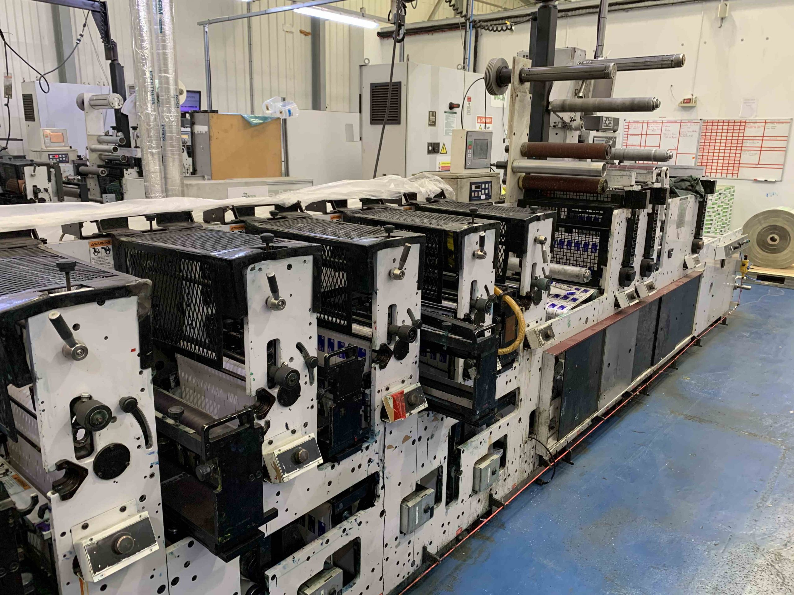 Mark Andy 2200 Servo - Used Flexo Printing Presses and Used Flexographic Equipment-7