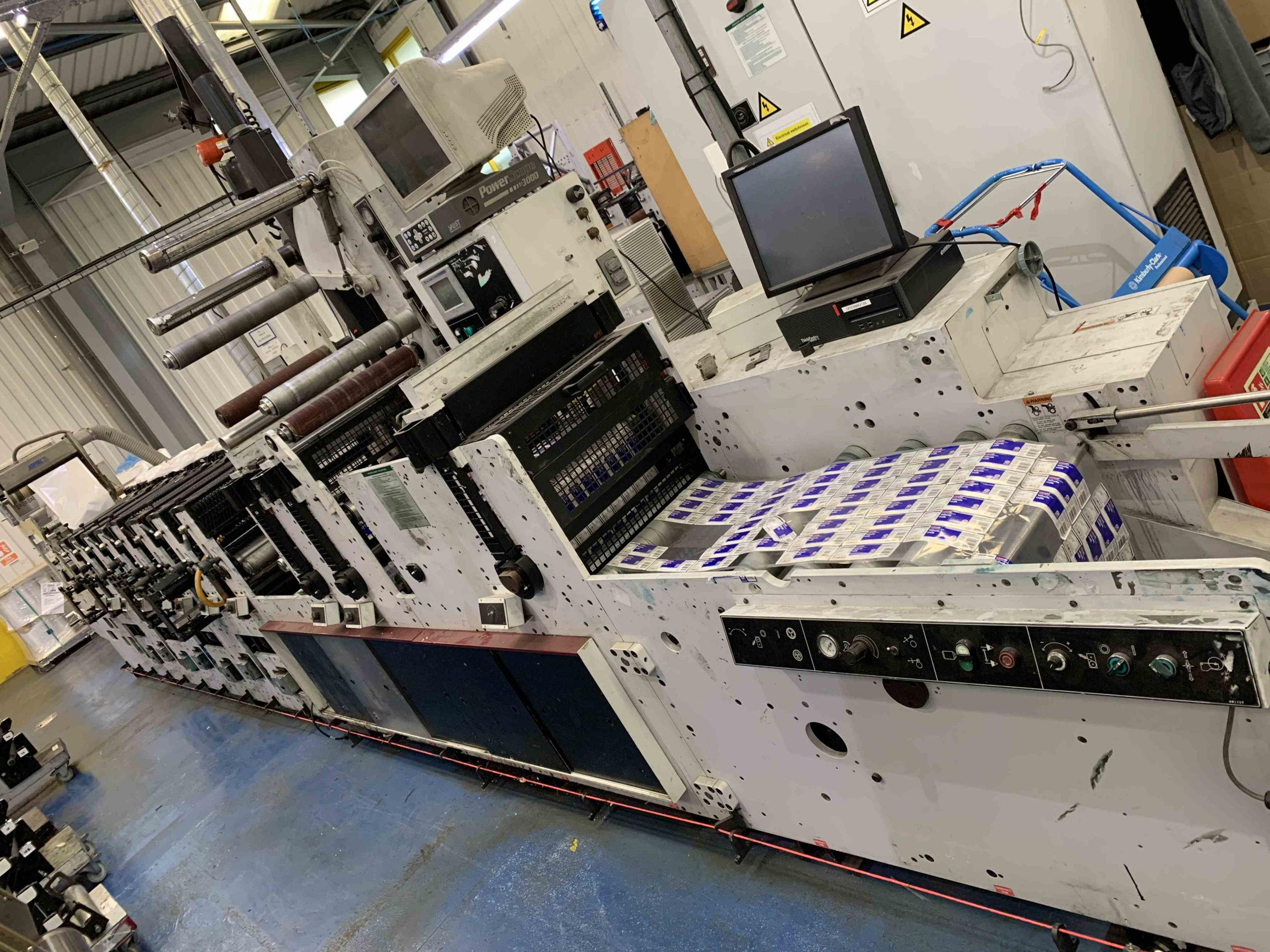 Mark Andy 2200 Servo - Used Flexo Printing Presses and Used Flexographic Equipment-9