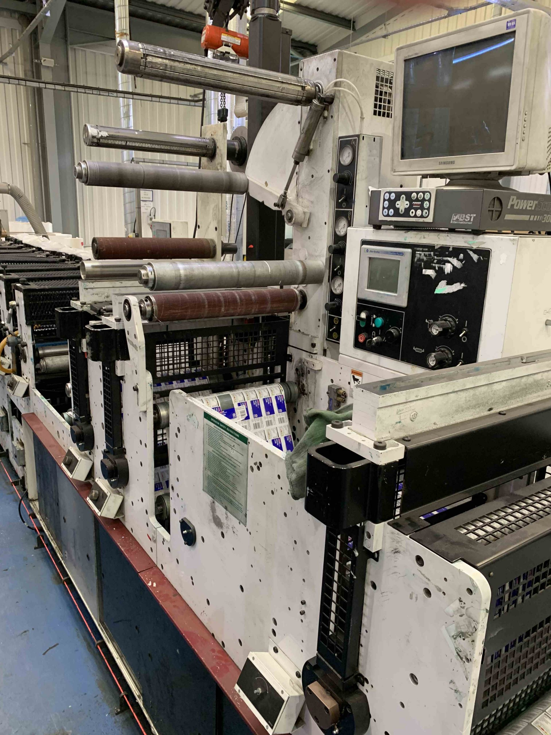 Mark Andy 2200 Servo - Used Flexo Printing Presses and Used Flexographic Equipment-10